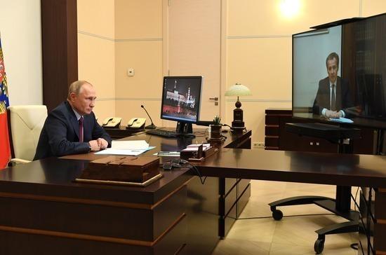 Путин назначил Гладкова врио губернатора Белгородской области