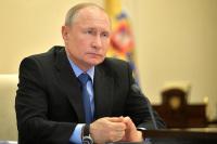 Путин назвал непростой ситуацию с COVID-19 в России