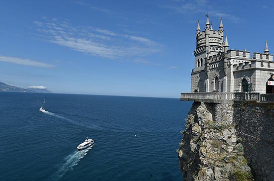 В Крыму отреставрировали «Ласточкино гнездо»