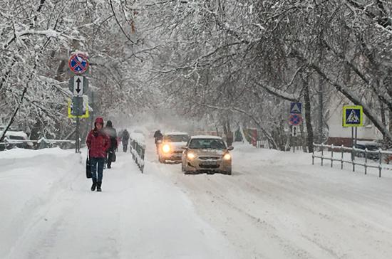 Синоптик предупредил о сильном снегопаде в Москве