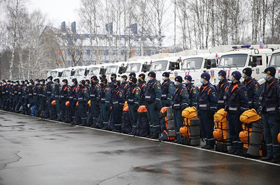 МЧС России направит в Карабах сводную группировку спасателей