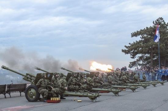 Минобороны: Сербия не стремится в НАТО