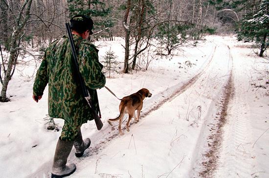 Родителям могут разрешить обучать охоте детей с 16 лет