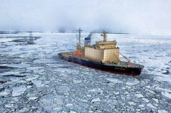 Атомные ледоколы обеспечат проводку кораблей по Севморпути