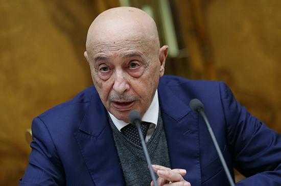 Спикер парламента Ливии прибыл на переговоры в Москву