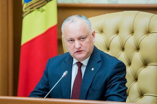 Додон выступит с инициативой по защите русского языка в Молдавии