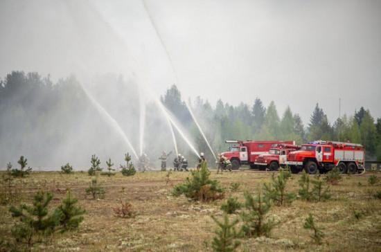 Правительство внесло в Госдуму законопроект о лицензировании противопожарной деятельности
