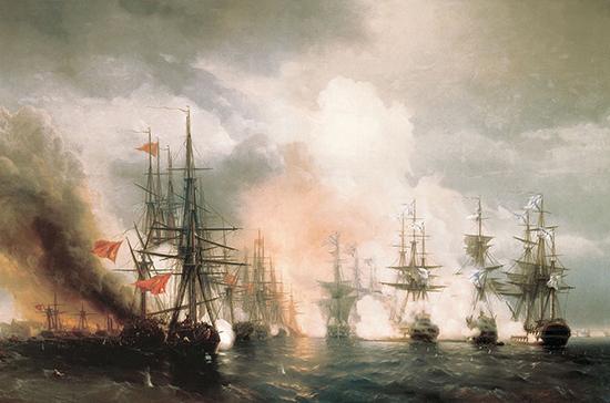 167 лет назад русская эскадра разгромила турецкий флот у мыса Синоп