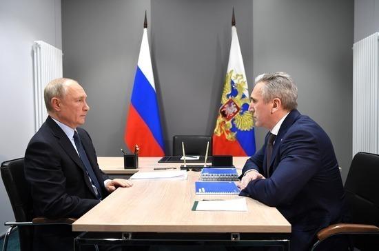 Путин указал на сокращение реальных доходов тюменцев