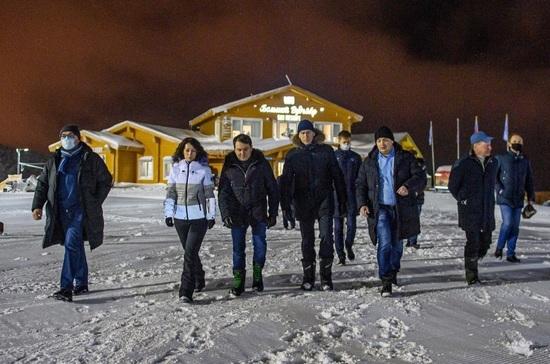 Министр спорта дал высокую оценку горнолыжному курорту «Большой Вудъявр»