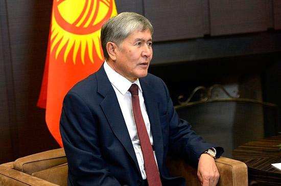 Лишение Атамбаева статуса экс-президента Киргизии признано законным