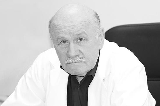 СМИ: погиб заслуженный врач РФ Вадим Розенталь