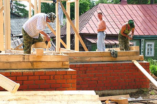 Многодетным могут компенсировать ипотеку на строительство