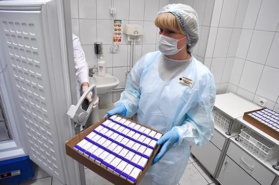 Первую партию вакцины от коронавируса доставили в Тульскую область