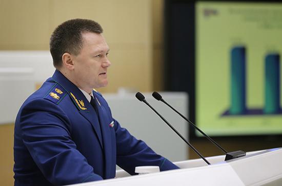Генпрокурор предлагает запретить коррупционерам претендовать на должность госслужащего
