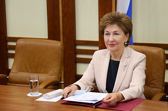 Карелова: в 2020 году более миллиона семей получили сертификат на маткапитал
