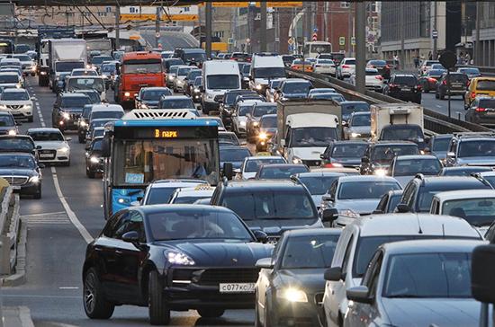 Дороги в Москве стали свободнее на 86% с начала марта