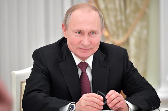 Путин поздравил жителей ХМАО и ЯНАО с 90-летием со дня образования регионов