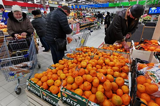 Правительство проработает параметры соглашений по сдерживанию цен на продукты