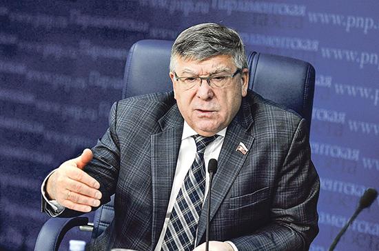 Рязанский назвал главную задачу законопроектов о вытрезвителях