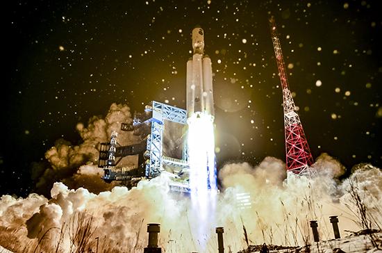 С Плесецка запустили ракету-носитель «Ангара-А5»
