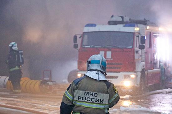 На территории монастыря в Подмосковье произошёл пожар