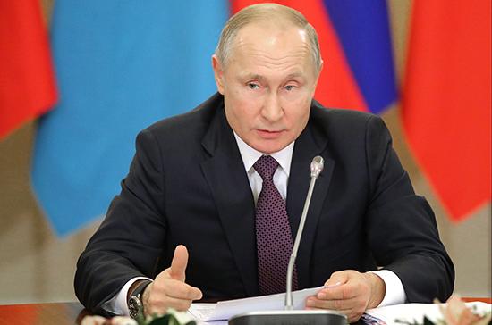 Владимир Путин призвал снять санкции с испытывающих трудности из-за COVID-19 стран