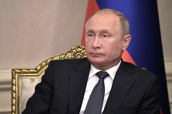 Россия не откладывает реализацию стратегических целей, заявил Путин