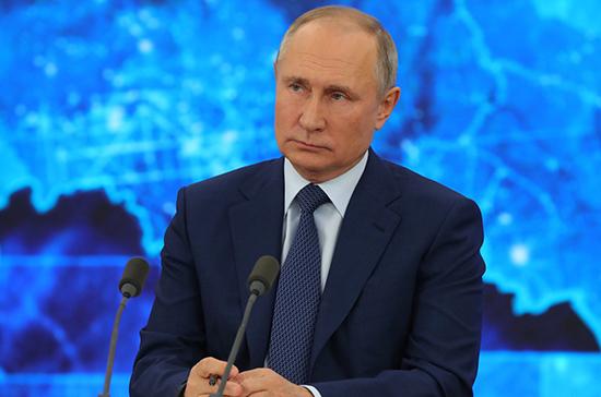 Путин ответил на вопрос о новом президентском сроке