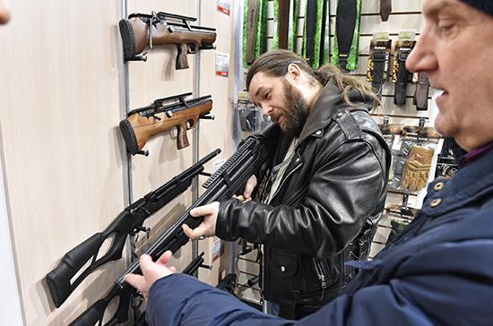 В России хотят продлить срок разрешений на хранение оружия