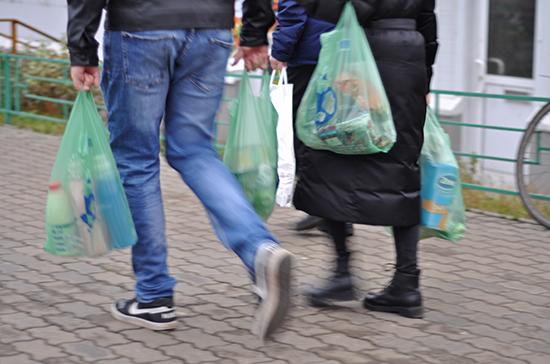 В России выступили против запрета пластиковых пакетов