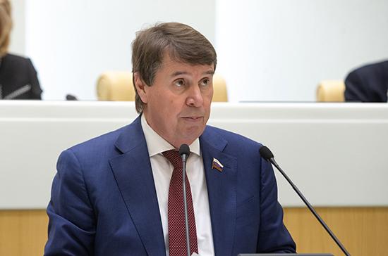Цеков оценил новые санкции США против России