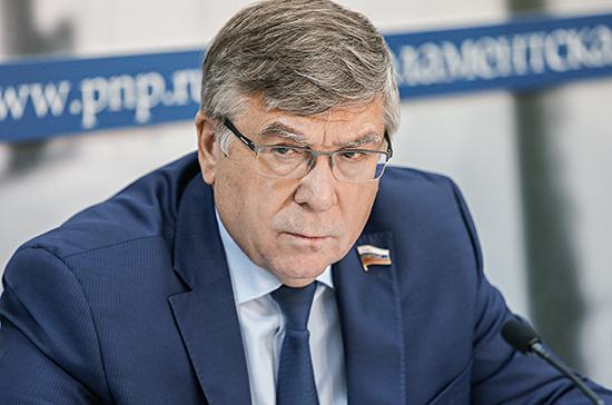 Законопроект о запрете веселящего газа готов к третьему чтению, сообщил Рязанский
