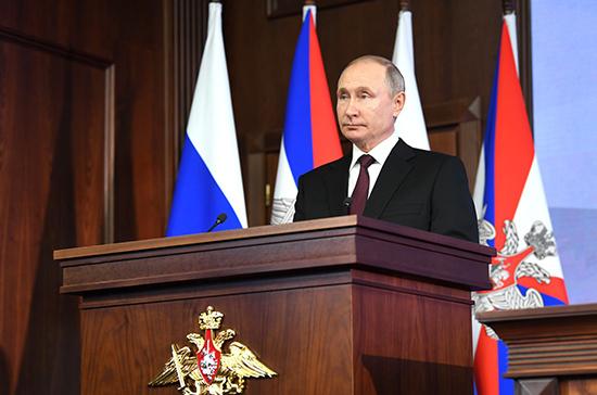Президент призвал оперативно отвечать на размещение ракет у границ