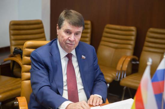 Цеков раскритиковал внесенный в Раду законопроект о запрете подачи воды в Крым