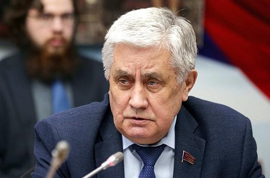 Госдума приняла постановление о досрочном прекращении полномочий Шурчанова