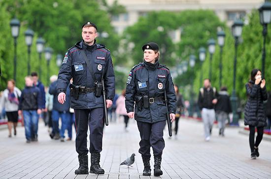 Проект о штрафах за неповиновение полицейским принят в первом чтении