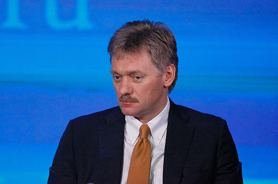Санкции могут осложнить строительство «Северного потока — 2», заявил Песков