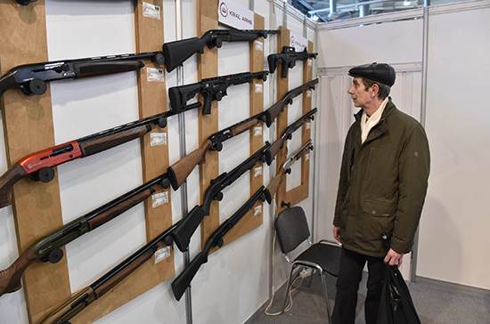 Дважды судимым хотят запретить владеть оружием