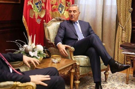 Президент Черногории госпитализирован с пневмонией