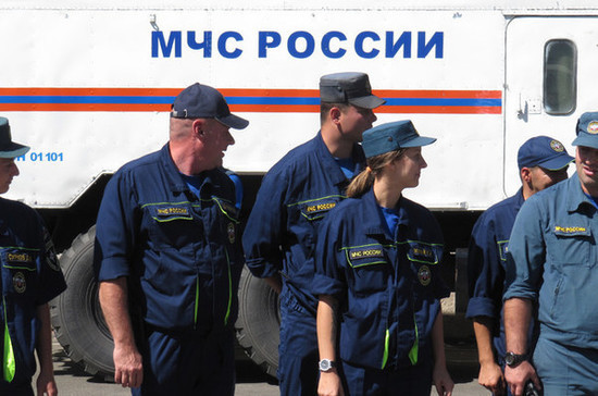 Российские спасатели отмечают профессиональный праздник