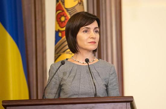 Санду заявила о готовности приехать в Россию на переговоры