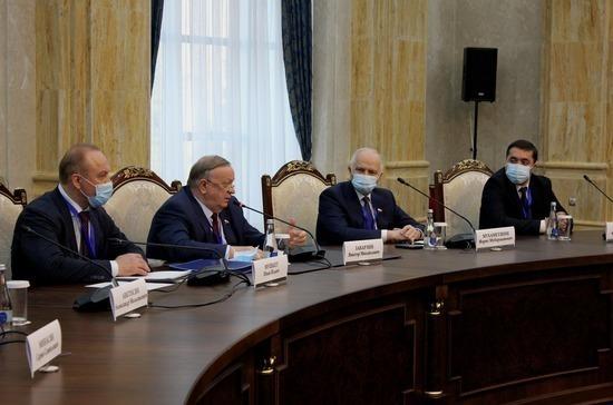 Мухаметшин отметил важность укрепления отношений между Россией и Киргизией