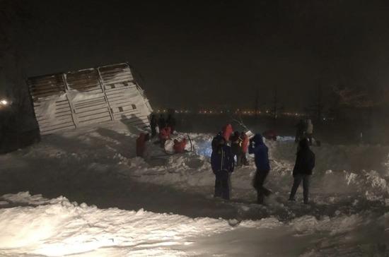 В Норильске обесточат территорию горнолыжной базы из-за угрозы схода лавины
