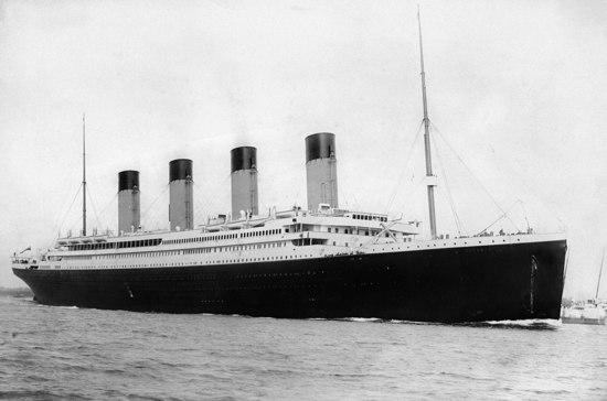 Когда затонул «Титаник»