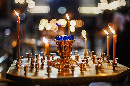 В православных храмах Литвы службы будут проходить без прихожан до конца карантина