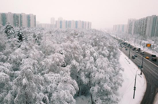 Москвичей предупредили о сильном похолодании