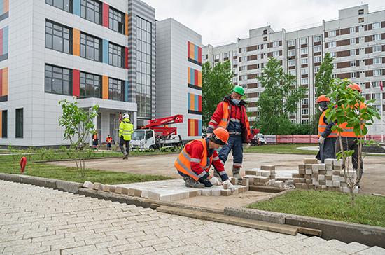 В России планируют построить почти 2 тысячи новых школ за четыре года