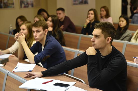 Российские вузы получат более 588 тысяч бюджетных мест в следующем году