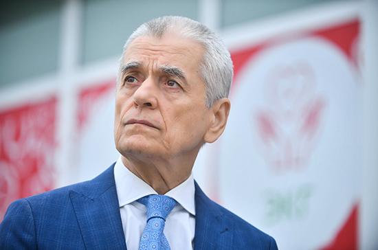 Онищенко оценил идею с бейджами привитым от коронавируса